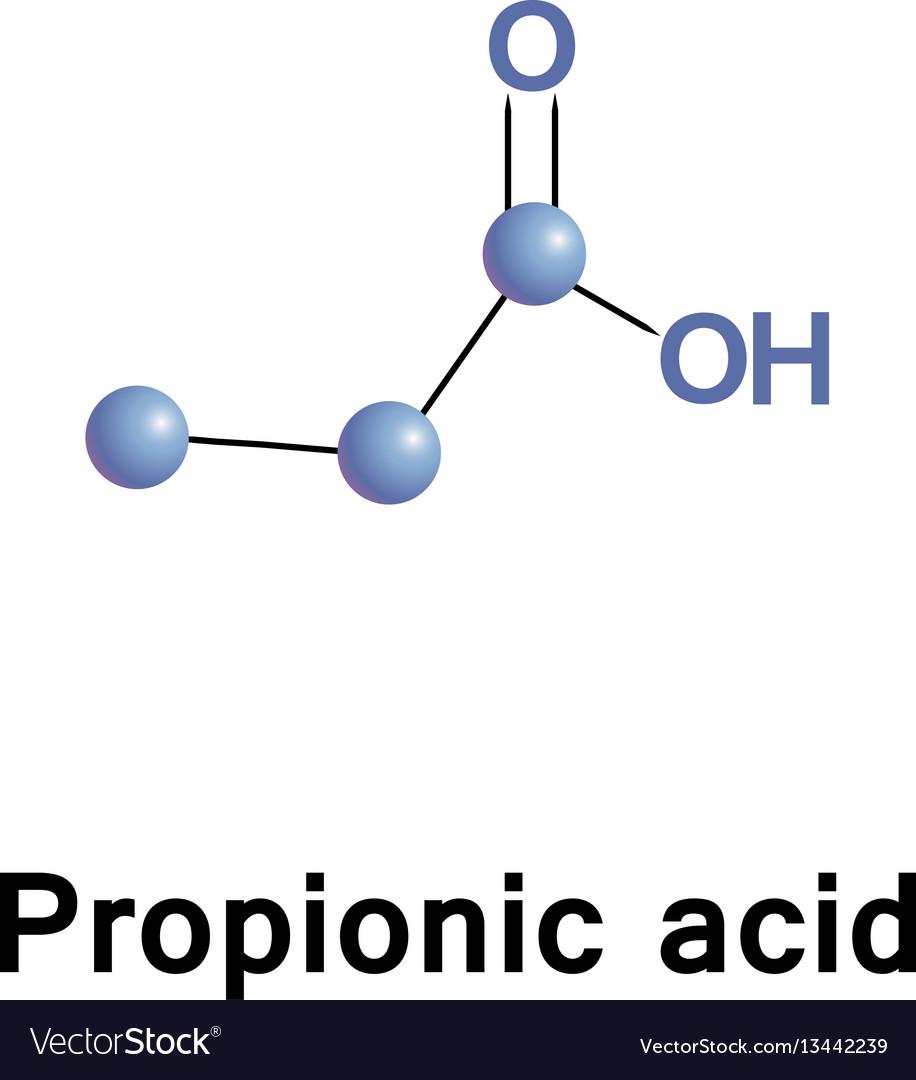 تصویر پروپیونیک اسید