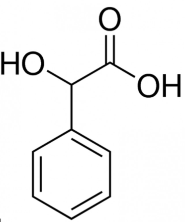 تصویر ماندلیک اسید