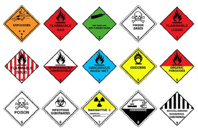 انواع مواد شیمیایی خطرناک